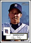 2001 Topps Heritage #98  Damion Easley  Front Thumbnail