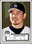 2001 Topps Heritage #147  Masato Yoshii  Front Thumbnail
