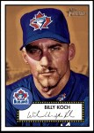 2001 Topps Heritage #64 RED Billy Koch   Front Thumbnail