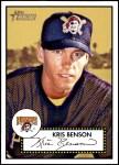 2001 Topps Heritage #1 RED Kris Benson   Front Thumbnail