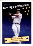 2001 Topps Heritage New Age Performers #4 NAP Barry Bonds  Front Thumbnail