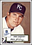 2001 Topps Heritage #4 RED Mike Sweeney   Front Thumbnail