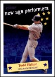 2001 Topps Heritage New Age Performers #13 NAP Todd Helton  Front Thumbnail