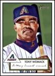 2001 Topps Heritage #102  Tony Womack  Front Thumbnail
