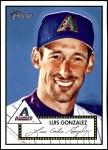 2001 Topps Heritage #204  Luis Gonzalez  Front Thumbnail