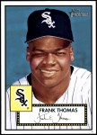 2001 Topps Heritage #210  Frank Thomas  Front Thumbnail