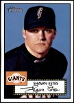 2001 Topps Heritage #218  Shawn Estes  Front Thumbnail