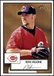 2001 Topps Heritage #238  Ron Villone  Front Thumbnail
