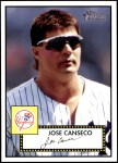 2001 Topps Heritage #258  Jose Canseco  Front Thumbnail