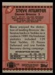 1990 Topps #29  Steve Atwater  Back Thumbnail