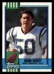 1990 Topps #314  Duane Bickett  Front Thumbnail