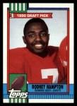 1990 Topps #48  Rodney Hampton  Front Thumbnail