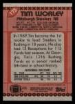 1990 Topps #175  Tim Worley  Back Thumbnail