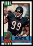 1990 Topps #377  Dan Hampton  Front Thumbnail