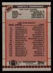 1990 Topps #526   Seahawks Highlights Back Thumbnail