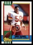 1990 Topps #131  Ravin Caldwell  Front Thumbnail
