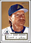 2001 Topps Heritage #305  Randy Johnson  Front Thumbnail