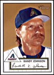 2001 Topps Heritage #305  Randy Johnson  Front Thumbnail