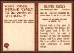 1967 Philadelphia #173  Bernie Casey  Back Thumbnail