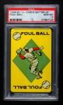 1949 Ed-U-Cards Batter Up   Foul Ball Front Thumbnail