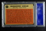 1962 Topps #18   -  Mickey Mantle / Willie Mays Managers' Dream Back Thumbnail