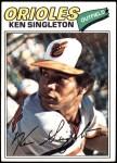1977 Topps #445  Ken Singleton  Front Thumbnail