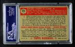 1952 Topps #393  Ebba St. Claire  Back Thumbnail