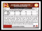 2008 Topps #350  Jamaal Charles  Back Thumbnail