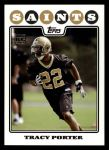 2008 Topps #432  Tracy Porter  Front Thumbnail