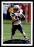 2009 Topps #51  Wes Welker  Front Thumbnail