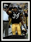 2009 Topps #52  Willie Parker  Front Thumbnail