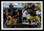 2009 Topps #329   -  Ben Roethlisberger / Willie Parker Classic Combo Front Thumbnail