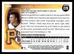 2010 Topps #229  Daniel McCutchen  Back Thumbnail