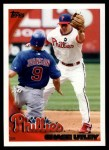 2010 Topps #300  Chase Utley  Front Thumbnail