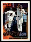 2010 Topps #412   Giants Team Front Thumbnail