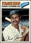 1977 Topps #220  Chris Chambliss  Front Thumbnail