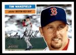 2005 Topps Heritage #302  Tim Wakefield  Front Thumbnail