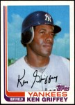 1982 Topps Traded #40 T Ken Griffey  Front Thumbnail