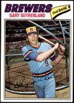 1977 Topps #307  Gary Sutherland  Front Thumbnail