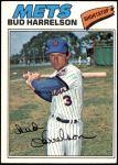 1977 Topps #44  Bud Harrelson  Front Thumbnail