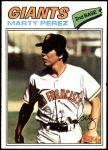1977 Topps #438  Marty Perez  Front Thumbnail