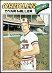 1977 Topps #77  Dyar Miller  Front Thumbnail