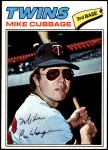 1977 Topps #149  Mike Cubbage  Front Thumbnail