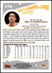 2005 Topps #174  Chris Mihm  Back Thumbnail