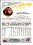 2005 Topps #210  Shawn Marion  Back Thumbnail