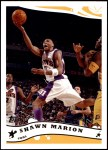 2005 Topps #210  Shawn Marion  Front Thumbnail