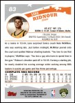 2005 Topps #83  Luke Ridnour  Back Thumbnail