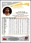 2005 Topps #176  Jim Jackson  Back Thumbnail