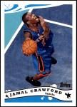 2005 Topps #6  Jamal Crawford  Front Thumbnail