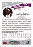2005 Topps #135  Marquis Daniels  Back Thumbnail